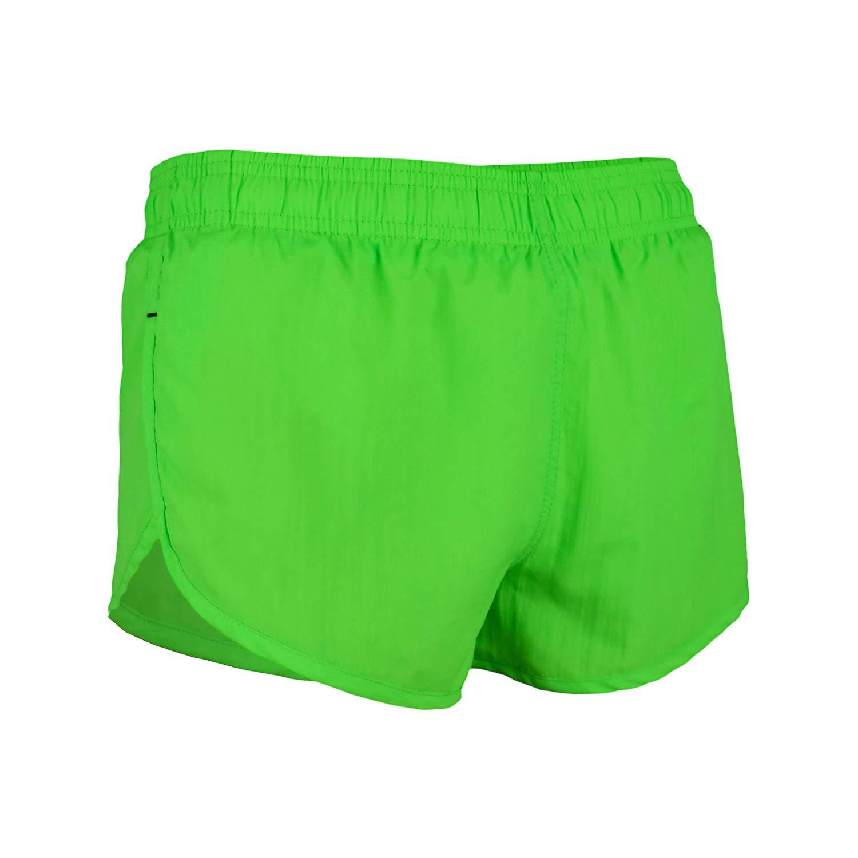 761b360cea3d Get Quotations · VBRANDED Men s Basic American Flag Running Shorts and Swimwear  Trunks Neon Green XL