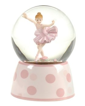 Resin Dancing Girl Snow Globe Custom Decorative for Souvenir