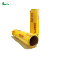 Soft Shrink Best Cling Roll Transparent Grade Fresh Plastic Pe Protective Stretch Film For Food