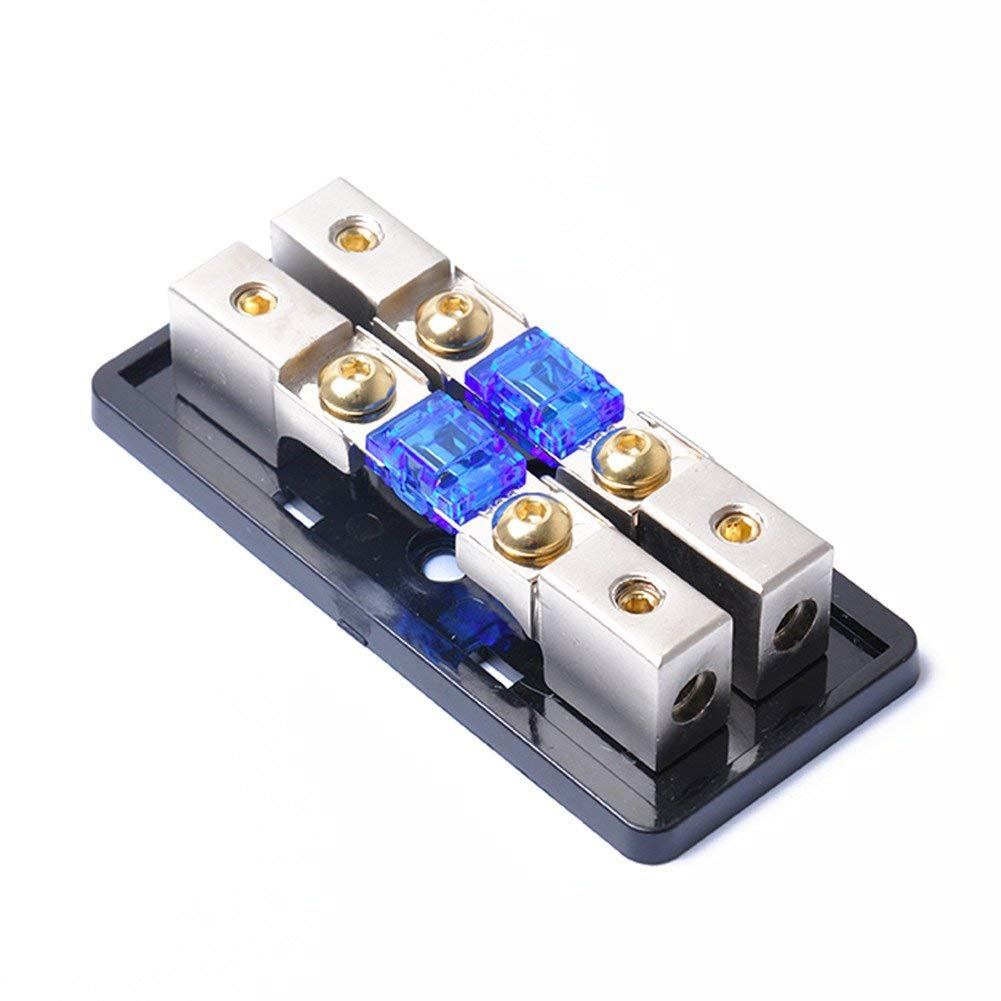 Cheap Mini Blade Fuse Block Find Deals On Addacircuit Piggy Back Holder Blue 20amp Get Quotations Allgreen Car Marine Boat Bike Anl 2 Way 12v