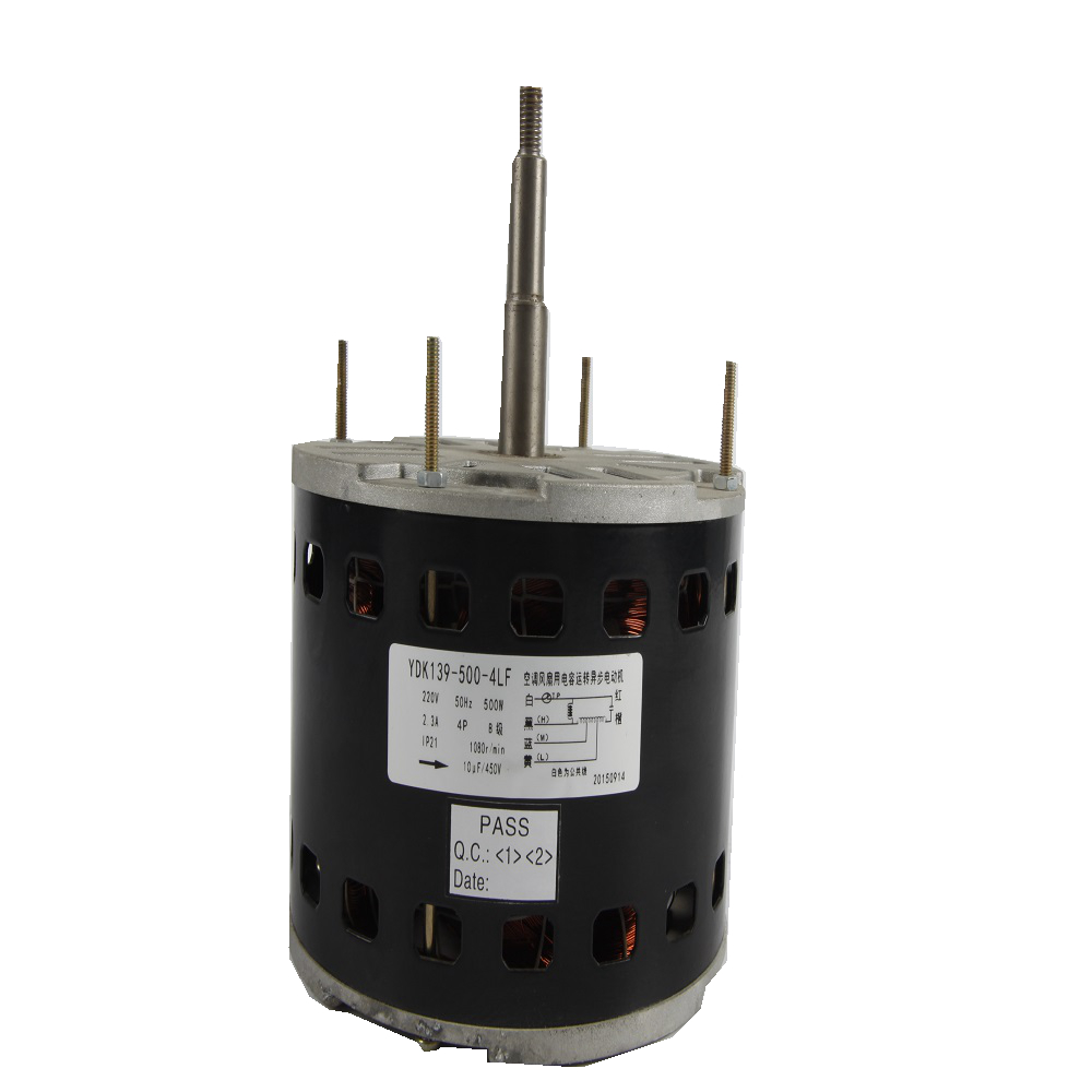 Three speed 0.18A ac fan motor for fan coil units with best quality