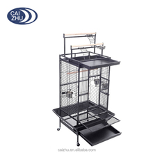 Bird Cage Parrot Finch Cockatiel Parakeet Ladder Iron Pet Cage Supply