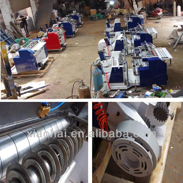 slitter rewinder type till roll making machine