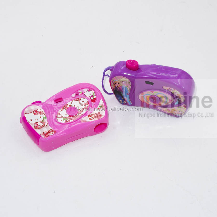 IN53099 Popular promotional camera toy for kids , plastic mini toy camera