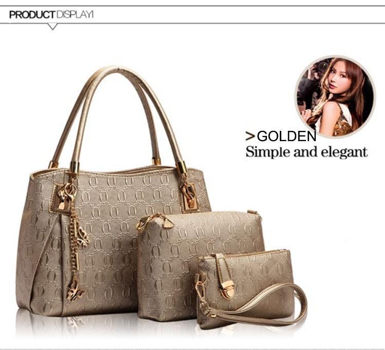 b46f4f37a63a Wholesale New 2015 Women Handbags Leather Handbag Women Messenger ...