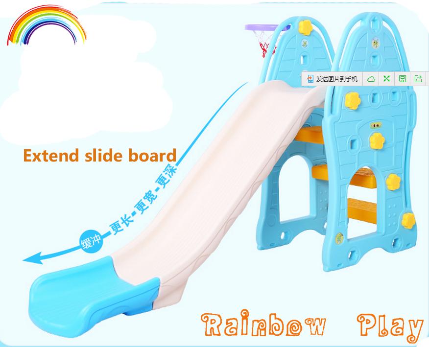 Extend Slide Board Fancy Indoor Plastic Kids Slides Long Slide ...