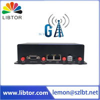Chinese supplier Libtor M2M gsm 3g 4g vpn gps bus car wifi router application gps wifi gsm module