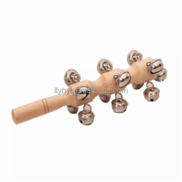 wooden musical bells baby rattles musical instruments names