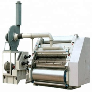 Fully automatic high speed 3/5/7 ply corrugated cardboard production plant carton box making machine