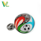 Custom design hot sales Die casting Silk screen printing Soccer for Gift embossed lapel pins