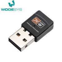 OEM 802.11a 600mbps USB WiFi Dongle 2.4GHz / 5GHz RT5572 Chipset Wireless USB Lan Adapter Dual Band 5 WiFi Dongle