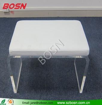 Hoch  Ende Klar Und Moderne Acryl Bank Mit Plexiglas Stuhl Matte