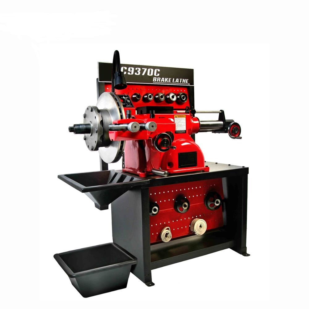 Quality drum and disc brake cutting lathe machine C9370 with best price
