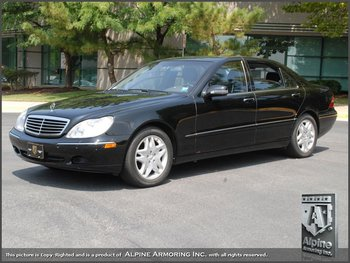 Used Armored 2001 Mercedes Benz S500 S Guard Sedan Level B4 Nij Iiia Buy Armored Sedan