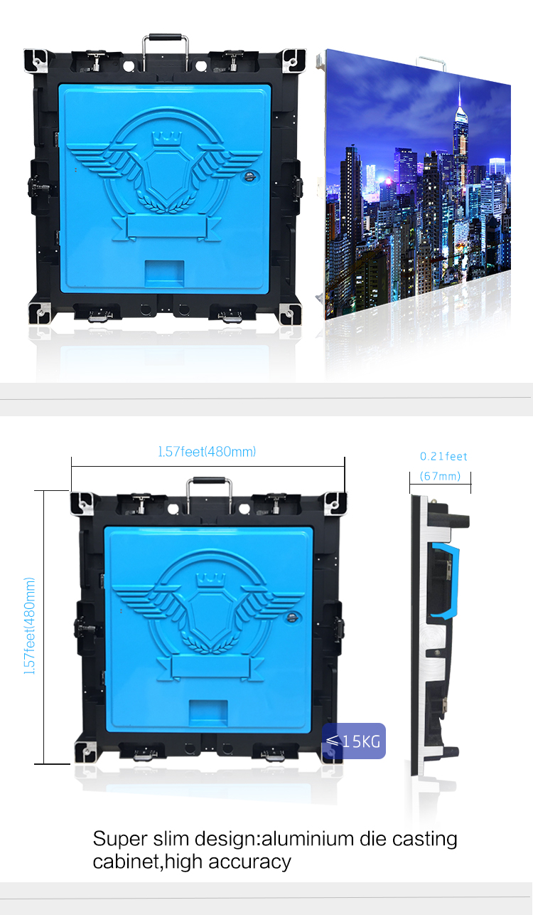 indoor p2.5mm led screen display wall panel show for stage background led board