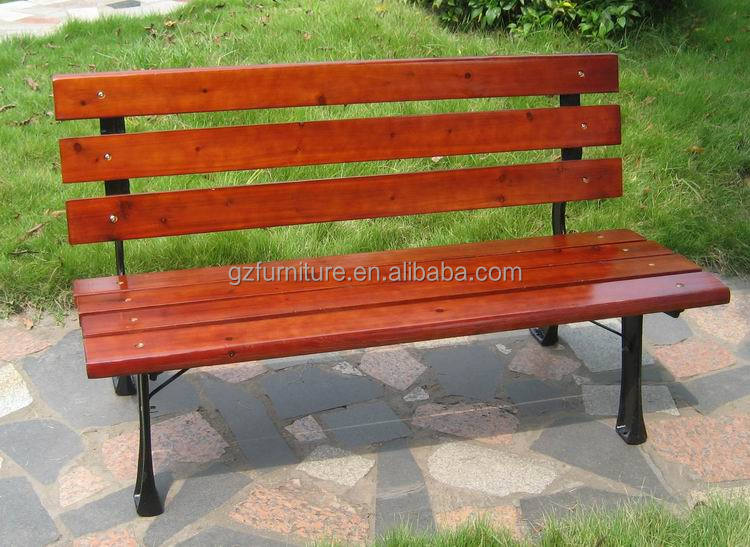 Recycle Plastic HDPE Park Bench