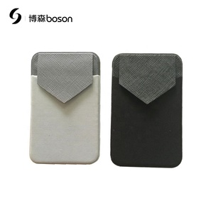 Hot promotional phone accessories logo custom printing mobile phone credit card holder