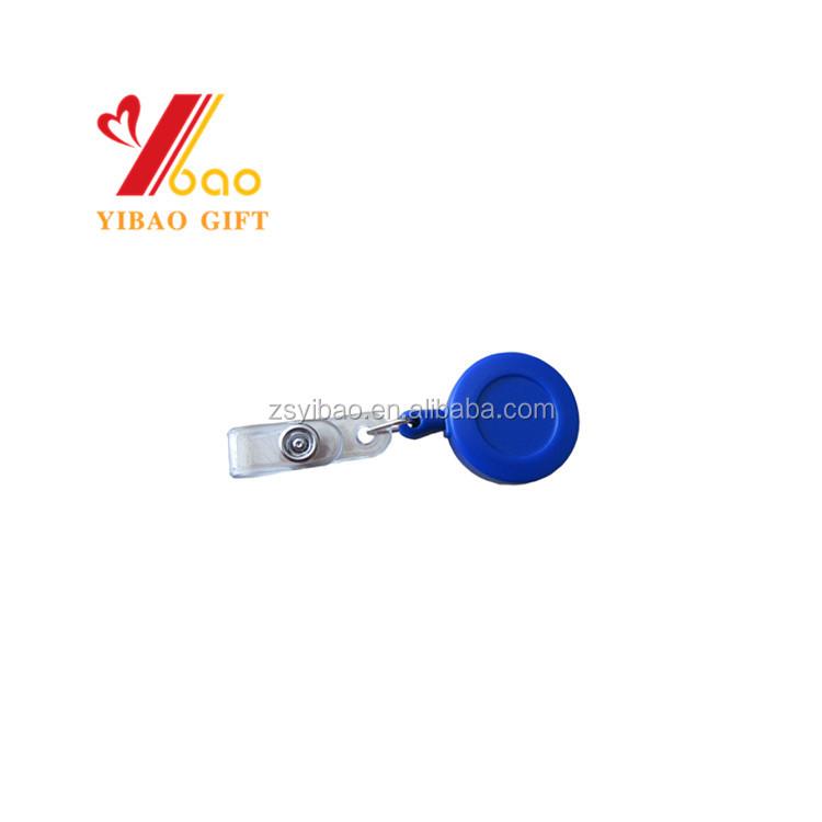 Retractable Reel Recoil ID Badge Lanyard Name Tag  Key Card Holder Belt Clip PP