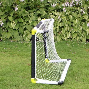 White Color Inflatable Football Mini Soccer Goal Posts For Sale
