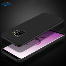 Maxshine Newest 도착 폰 건 대 한 galaxy s9, black tpu matte case cover 대 한 Samsung galaxy s10 s10plus s10lite