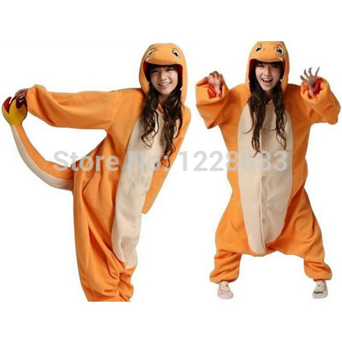 Anime Onesie Sleepwear Charmander Onesie Pajamas Cosplay Costume Adult  Pyjamas Party in Stock 6d56c0744