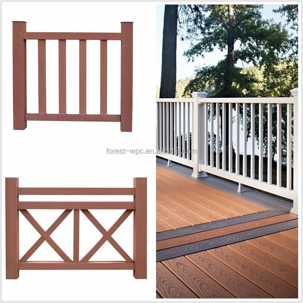 balkon holzzaun rohr um holz zu fechten zaun 3d modelle. Black Bedroom Furniture Sets. Home Design Ideas