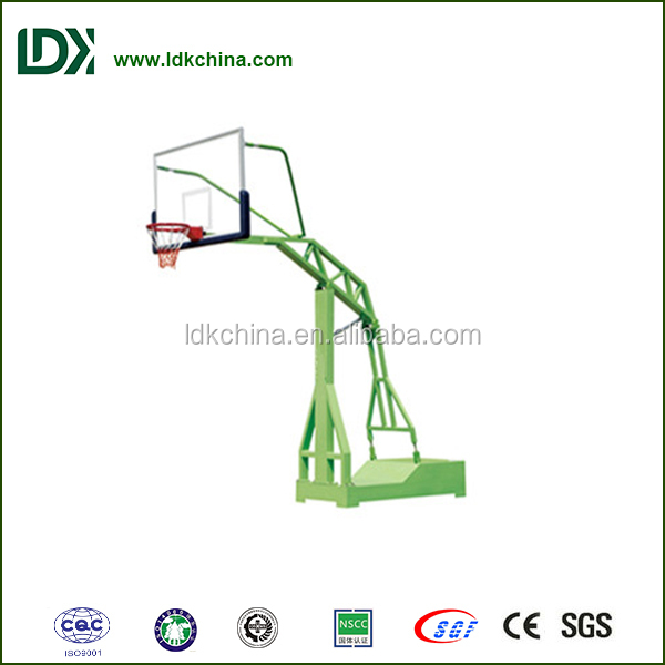 Outdoor basketball system imitated hydraulic basketball stand