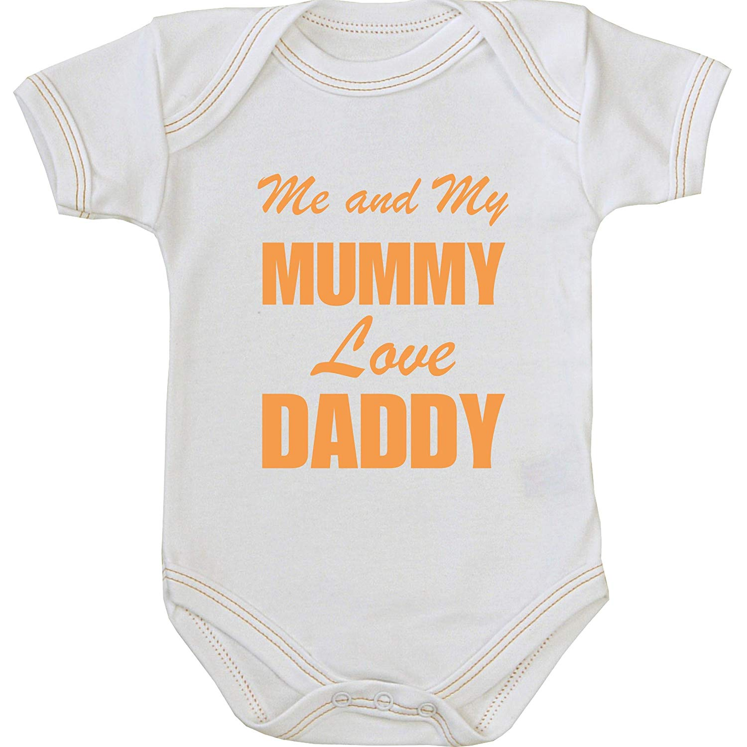 794d04013 Buy BabyPrem Baby Me and my Mum Love Daddy Long Sleeved Bodysuit ...