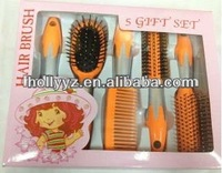 High quality unusual design fresh color hair magic brush