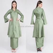 Islam Tradisional Pakaian Desain Berkualitas Tinggi Baju Kebaya Kurung 2016
