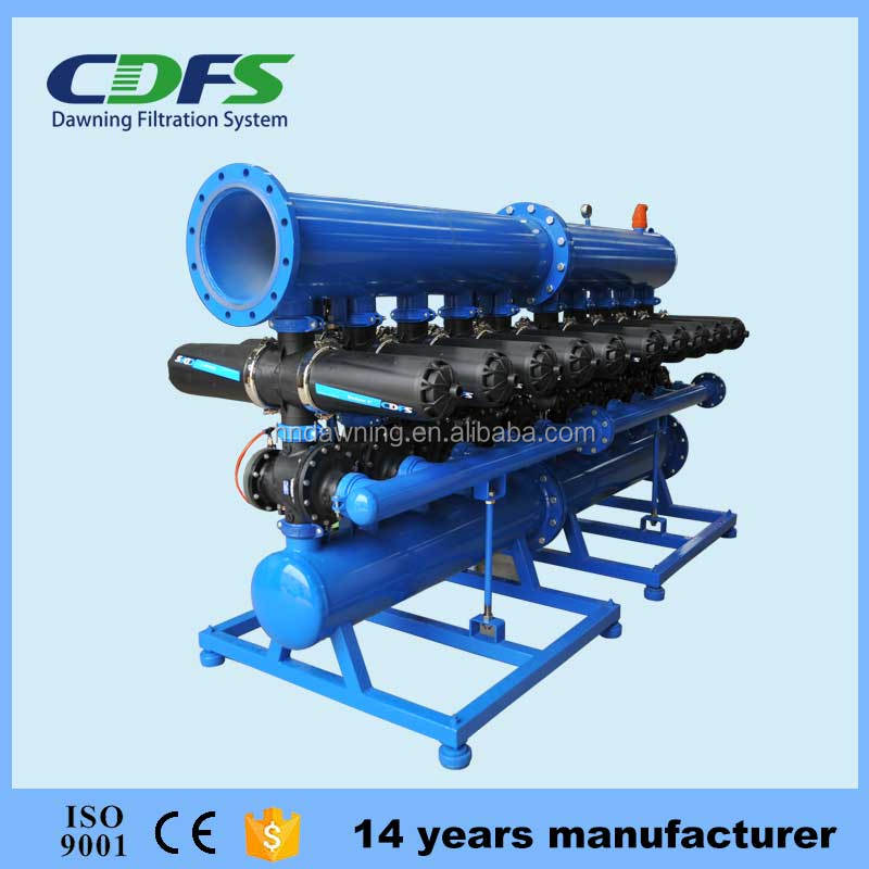 China Automatic Backwash Disc Filter For Pretreatment Of Reverse ...