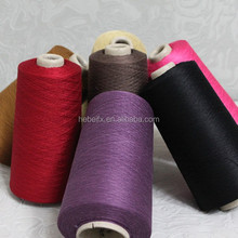 Factory price 100% spun mulberry raw silk yarn 140nm/2 normal 2nd grade