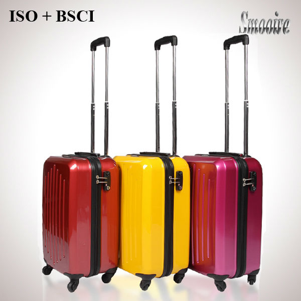 unusual design lady standard sizes polycarbonate PC suitcase