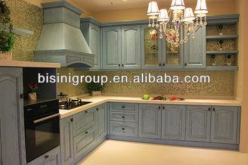 Vintage Kitchen Cabinets Design,European Style Wood Kitchen  Furniture,Luxury Custom Kitchen Cabinets(bf08-7018) - Buy Display Kitchen  Cabinets For ...
