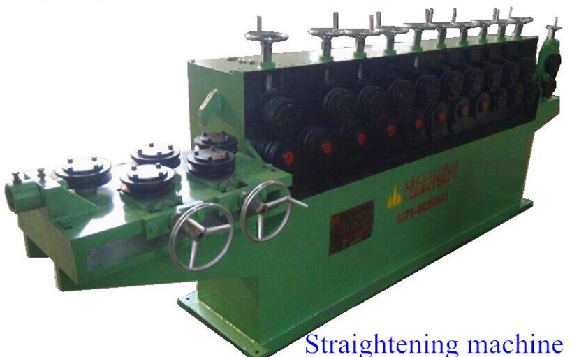 rebar straightening machine