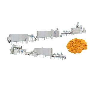 Barley Flakes Cornflakes Cereal Flaker Machine