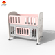 New Design Good Quality Non-toxic Folding Cute Multifunction Plastic Babies Cot Infant New Born baby Crib bed folding Cots beds
