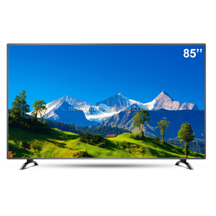 "85"" China Manufacturer Wide Flat Screen 4K slim design LED TV"