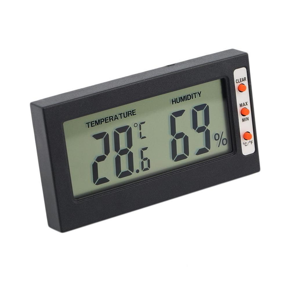 Digital household <strong>temperature</strong> and humidity meter thermometer hygrometer digital