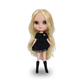 On sale cheap toy 7 joints body plastic blythe like bjd Icy doll with black dress for girls
