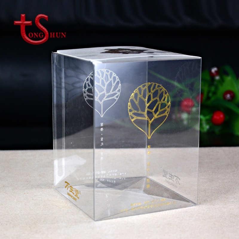 Custom PVC / PP / PET clear plastic transparent box