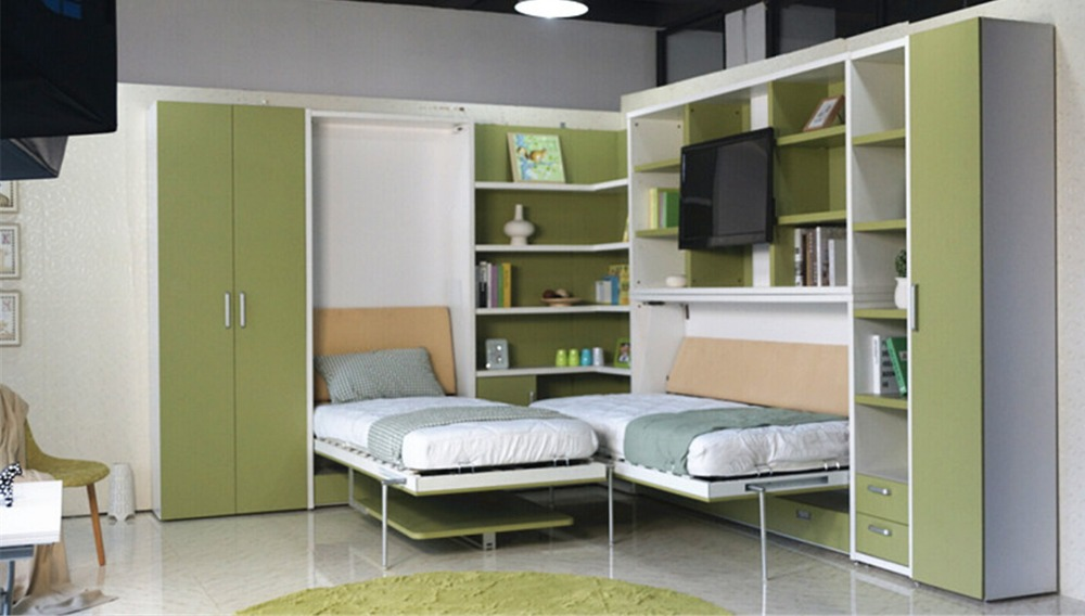 Marvelous Murphy Hidden Wall Bed Space Saving Wall Bed Vertical Single Folding Wall  Bed With Dining Table
