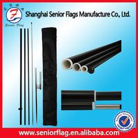 Telescopic Fiberglass Pole , Aluminum Flagpole , Aluminum Flag Pole