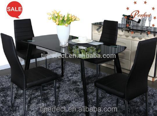 platzsparende weiß und schwarz esstisch set-metalltisch-produkt id, Esstisch ideennn