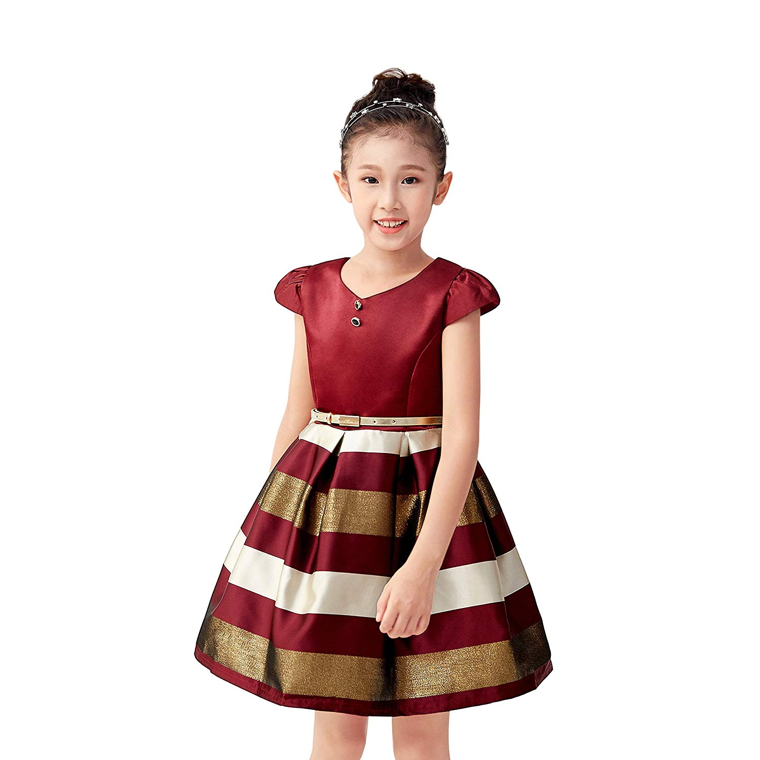 Get Quotations · Girls Dresses for Party Special Occasion Pageant Kids Girls  Dress for Summer Causal Holiday 7f3968615