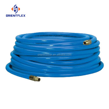 Customize logo portable UV resistant pneumatic washing apparatusv yellow pvc gas hose factory direct supply