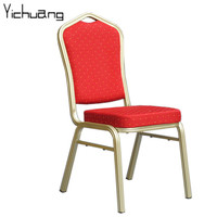 Stacking Dining Room Furniture / High Quality Restaurant Steel Stacking Dining Chair And Table YC-ZG86-09