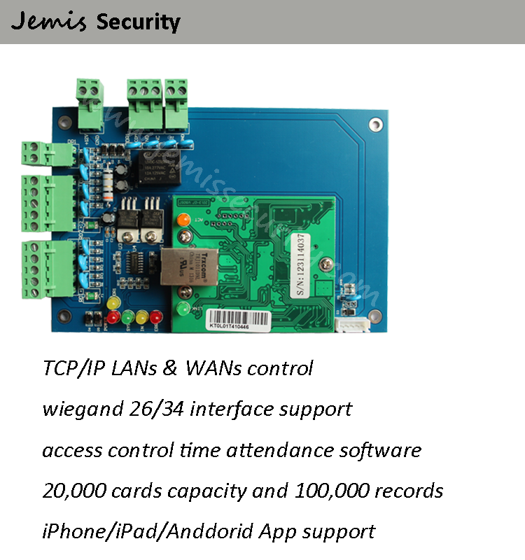 Double Web Server Door Access Control System,Wiegand26/34 Ios/android  Access Control Board - Buy Door Access Control System,Access Control
