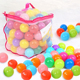 Alibaba China new design high quality colorful clear Plastic balls for ball pit