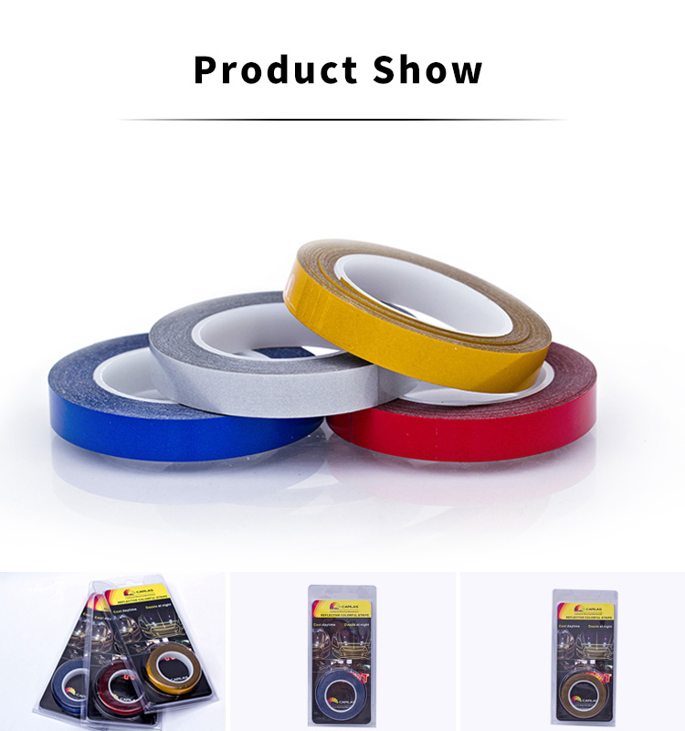 Intensity adhesive security material  reflective tape
